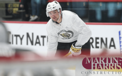 VGK Rookie Camp by Martin-Harris Construction!